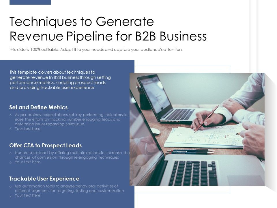 Techniques To Generate Revenue Pipeline For B2b Business