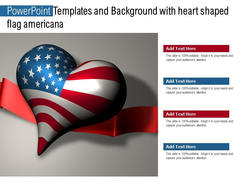 Templates With Heart Shaped Flag Americana Break Barriers With Our Heart Shaped Flag Americana Templates
