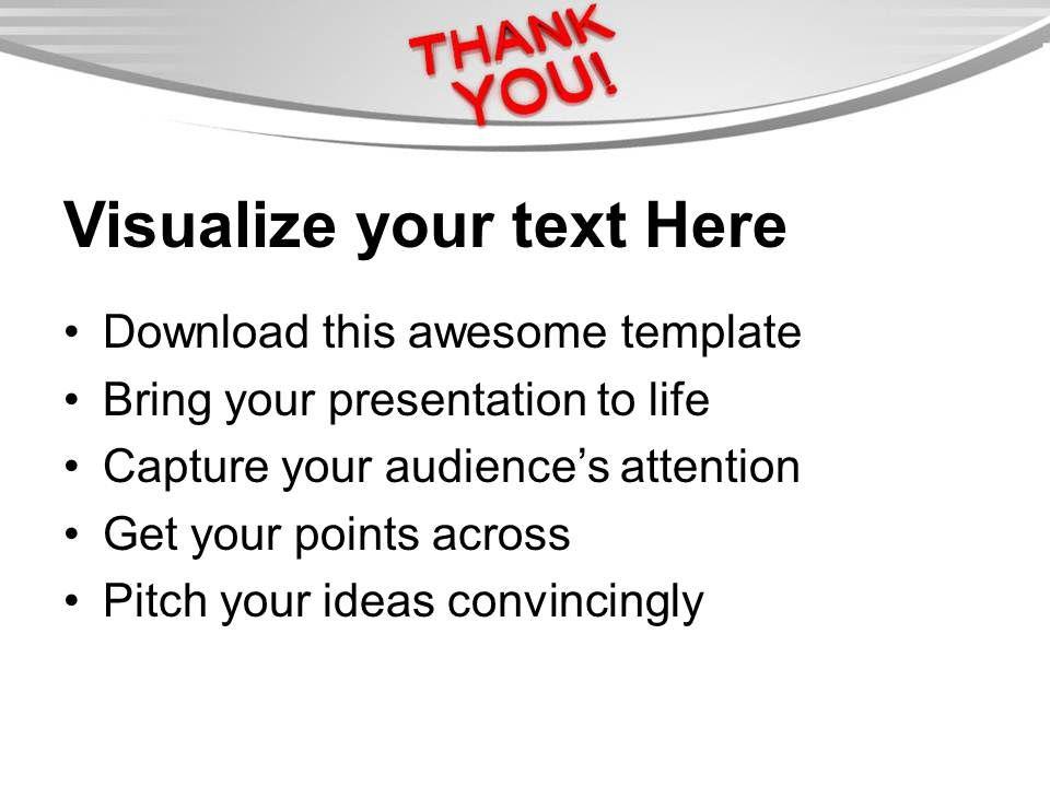 thank you award template .