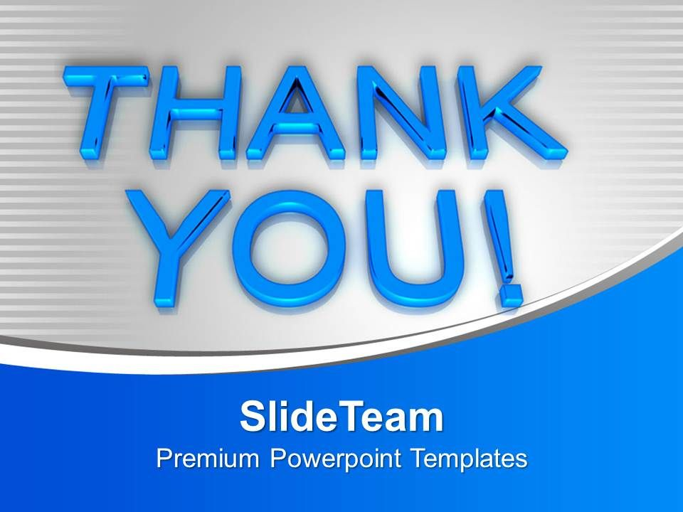 Completely Free Background Check >> Thank You Metaphor Powerpoint Templates Ppt Backgrounds For Slides 0113 | PowerPoint Design ...