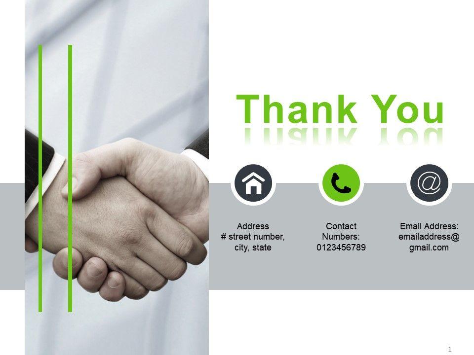 thank you powerpoint slides design