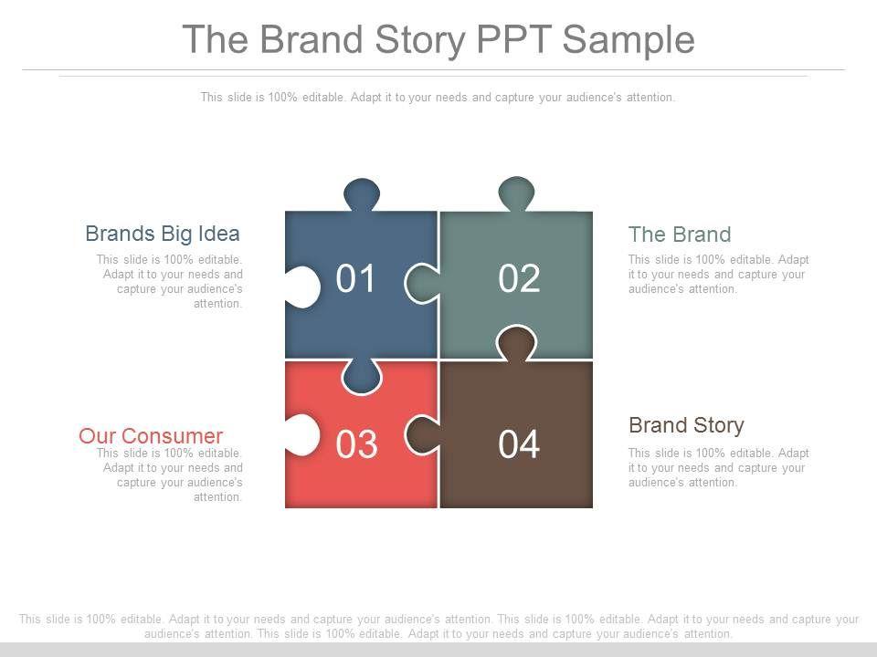 The brand story ppt sample templates powerpoint presentation thebrandstorypptsampleslide01 thebrandstorypptsampleslide02 thebrandstorypptsampleslide03 thebrandstorypptsampleslide04 maxwellsz