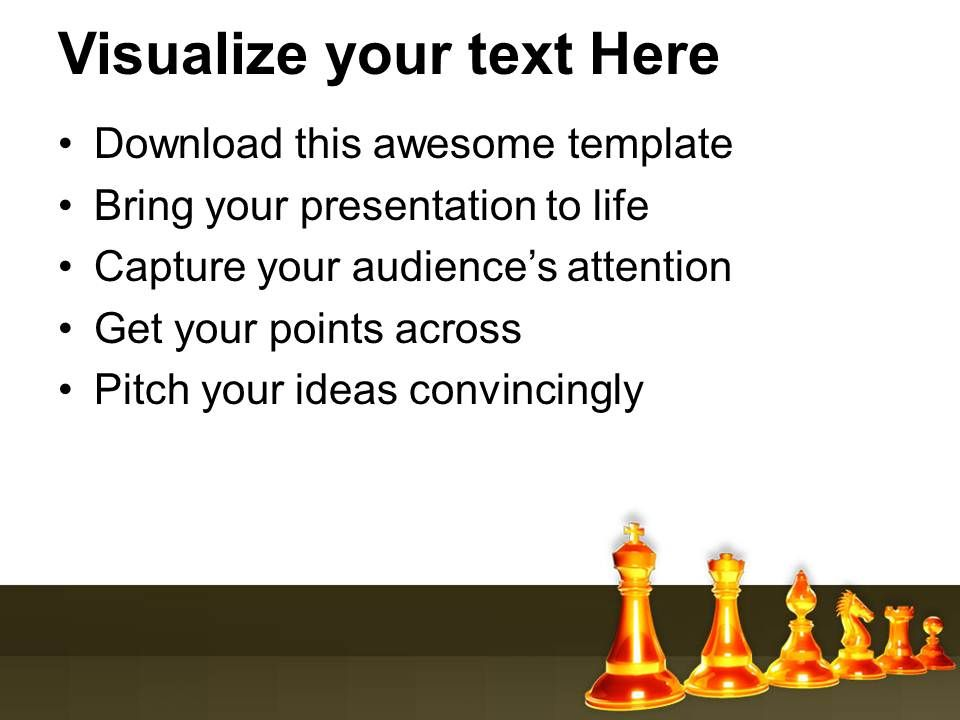 Theme For Rules Of Chess Powerpoint Templates Ppt Backgrounds For