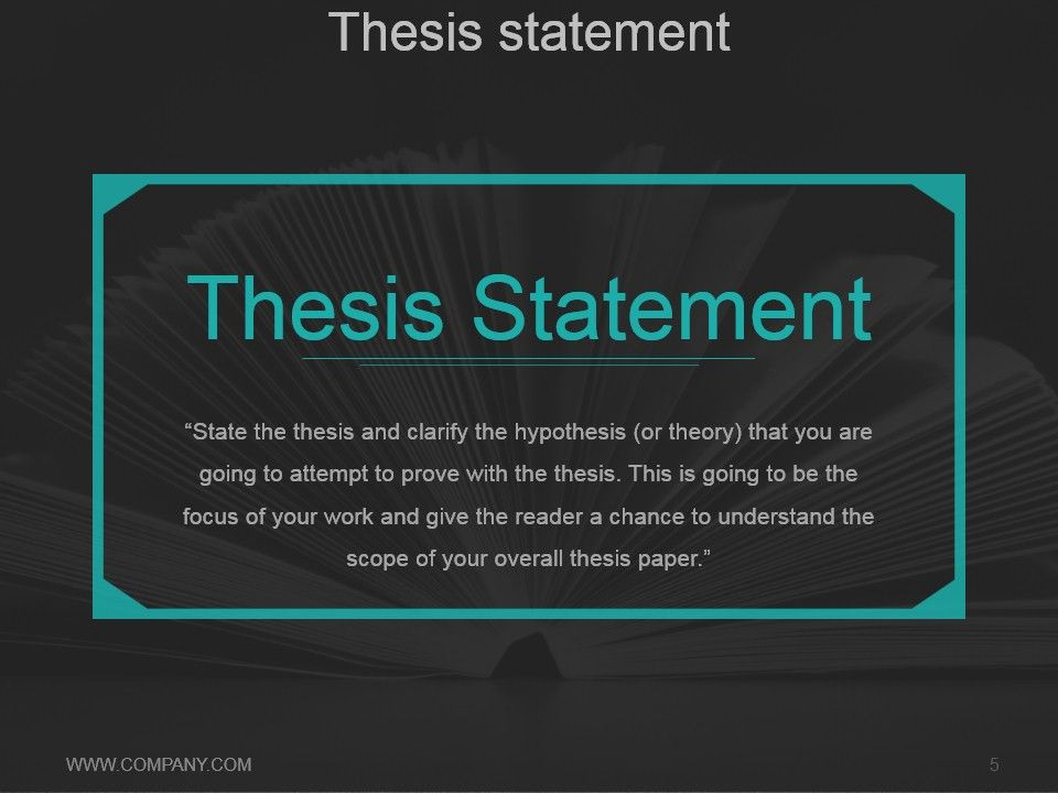 thesis powerpoint presentation outline Even a chapter from your thesis a conference presentation is  outline of a conference presentation  brian reich academic presentations.