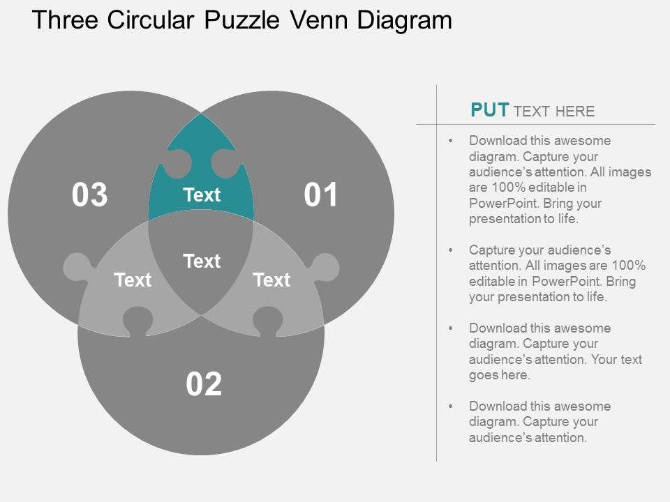 Three circular puzzle venn diagram flat powerpoint design threecircularpuzzlevenndiagramflatpowerpointdesignslide07 threecircularpuzzlevenndiagramflatpowerpointdesignslide08 ccuart Images
