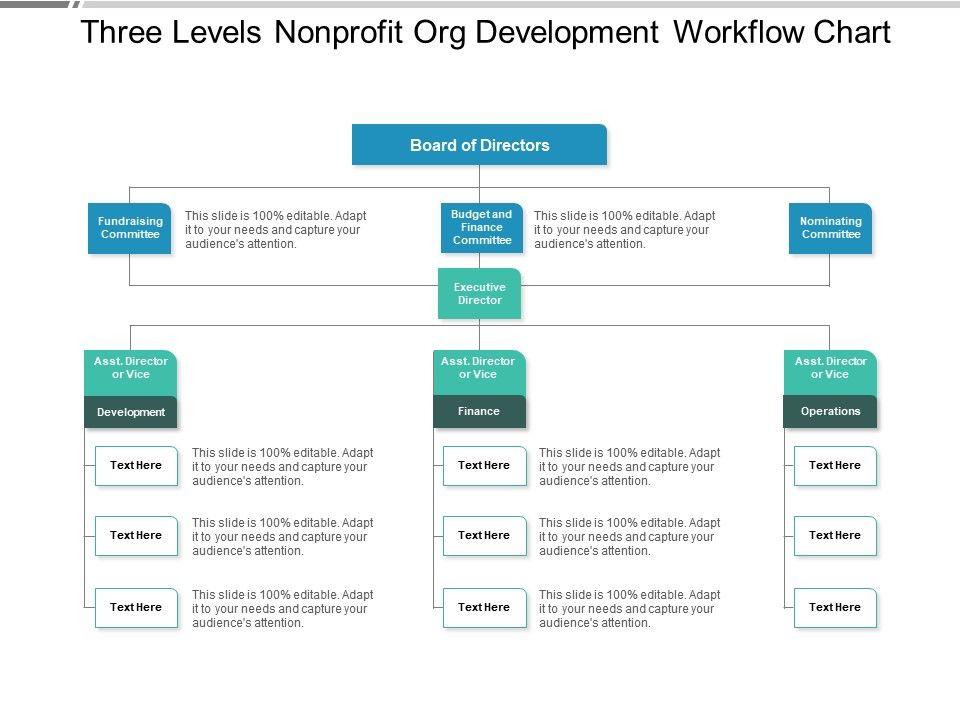 three_levels_nonprofit_org_development_workflow_chart_Slide01