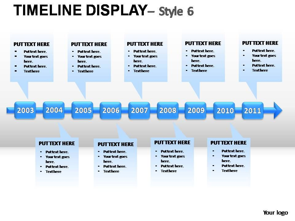 timeline_display_style_6_powerpoint_presentation_slides_Slide01