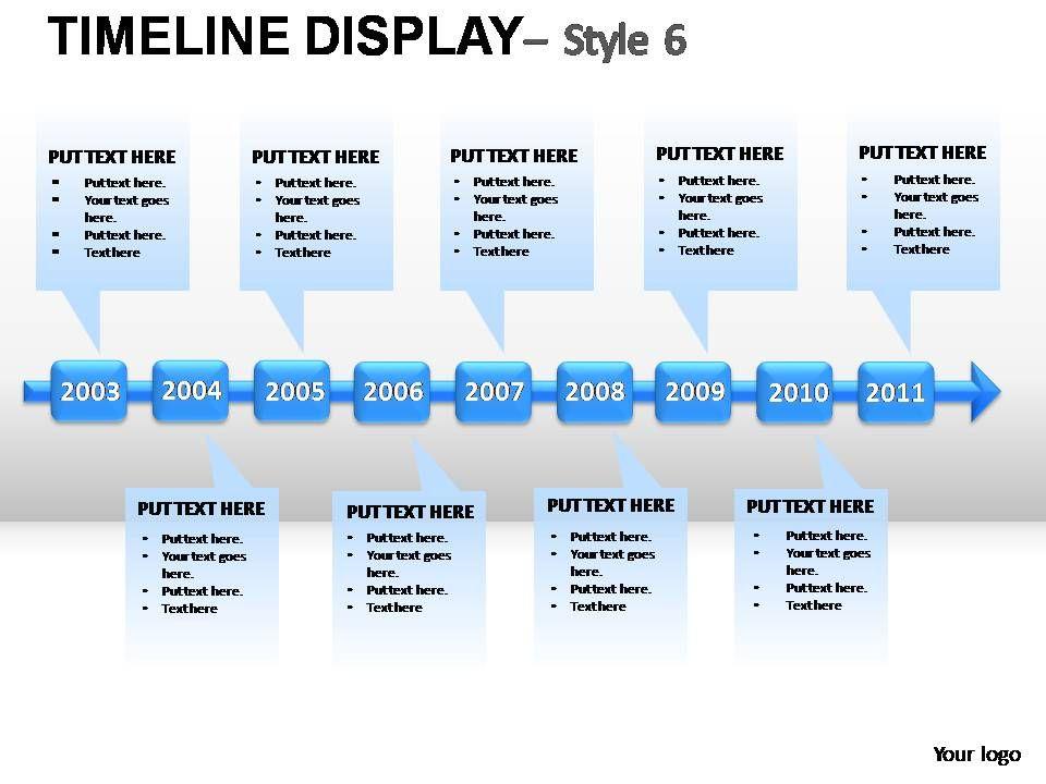 timeline_display_style_6_powerpoint_presentation_slides_Slide01