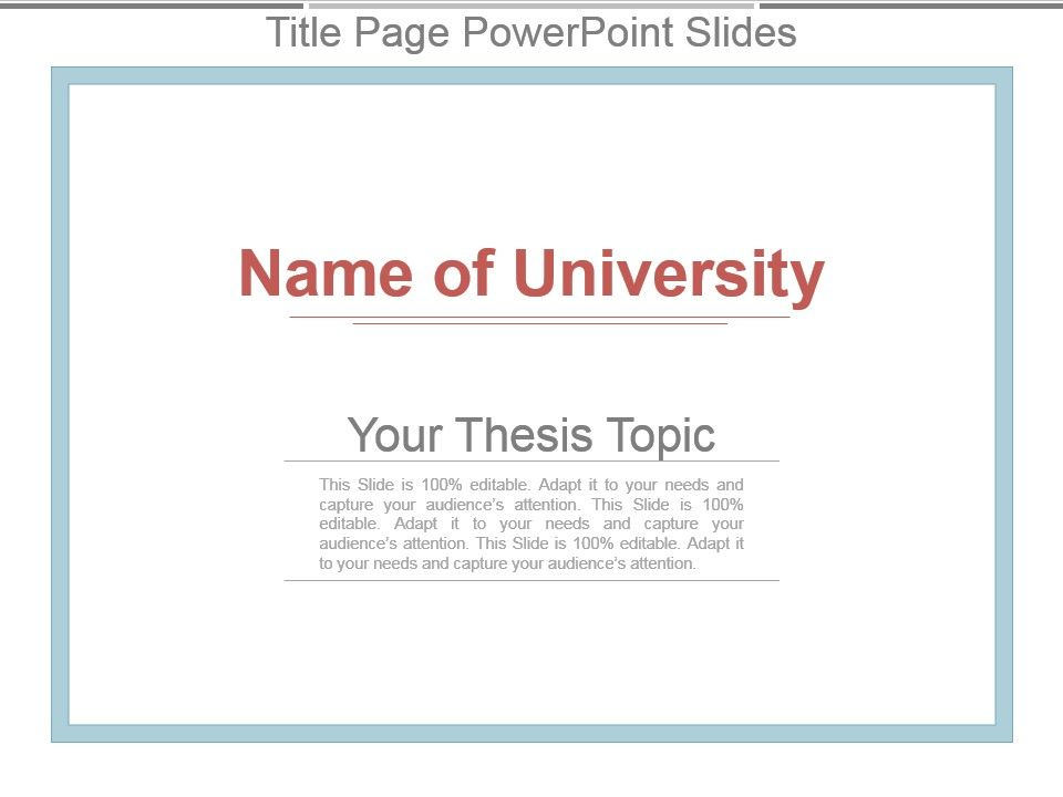 Thesis Cover Page Template from www.slideteam.net