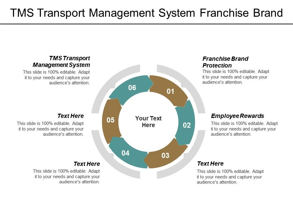 TMS Transport Management System Franchise Brand Protection