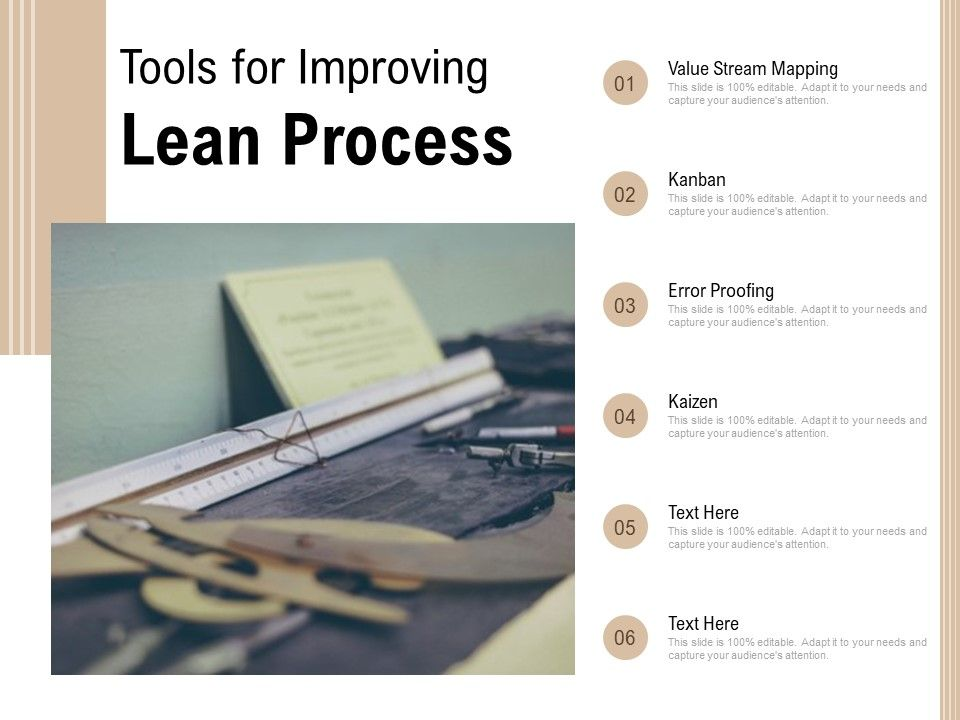 Tools For Improving Lean Process