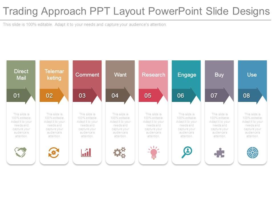 trading approach ppt layout powerpoint slide designs graphics
