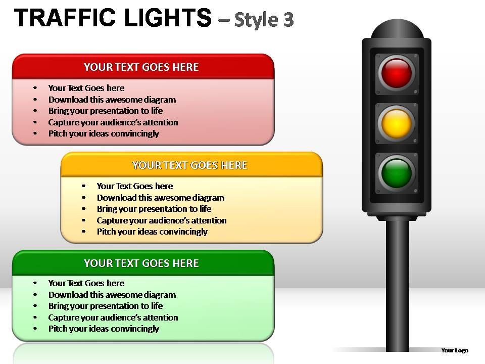 Traffic Lights Style 3 Powerpoint Presentation Slides Powerpoint Slide Presentation Sample Slide Ppt Template Presentation