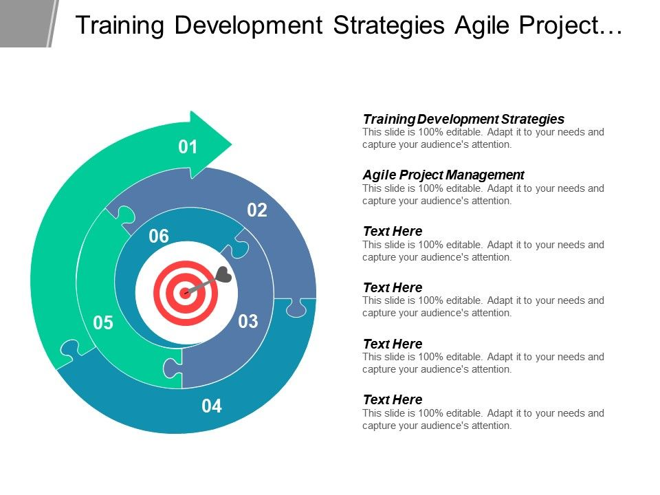 training_development_strategies_agile_project_management_marketing_smart_objectives_cpb_Slide01
