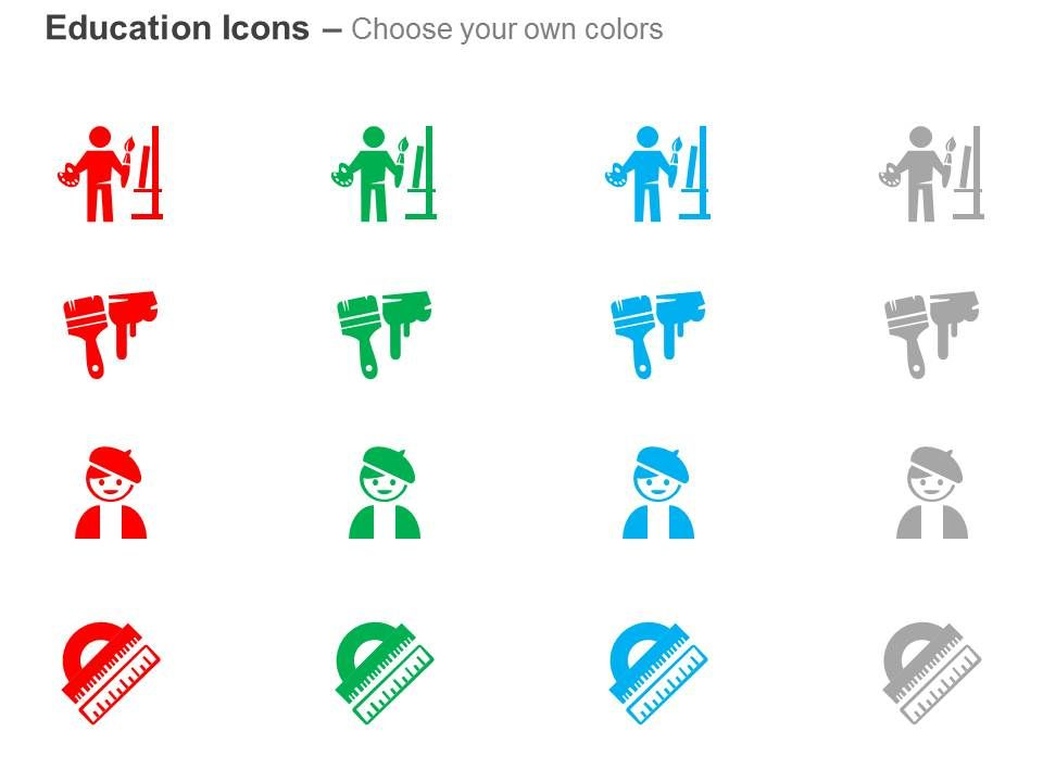 Training Teacher Class Brush Scale Ppt Icons Graphics | PowerPoint