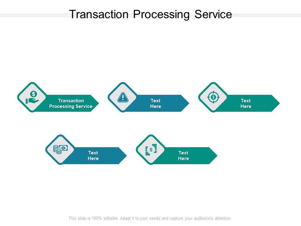 Transaction Processing Service Ppt Powerpoint Presentation Portfolio Cpb
