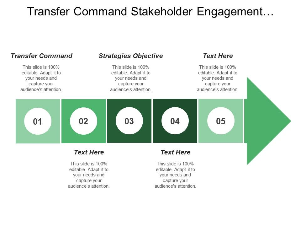 Transfer Command Stakeholder Engagement Strategies Objective