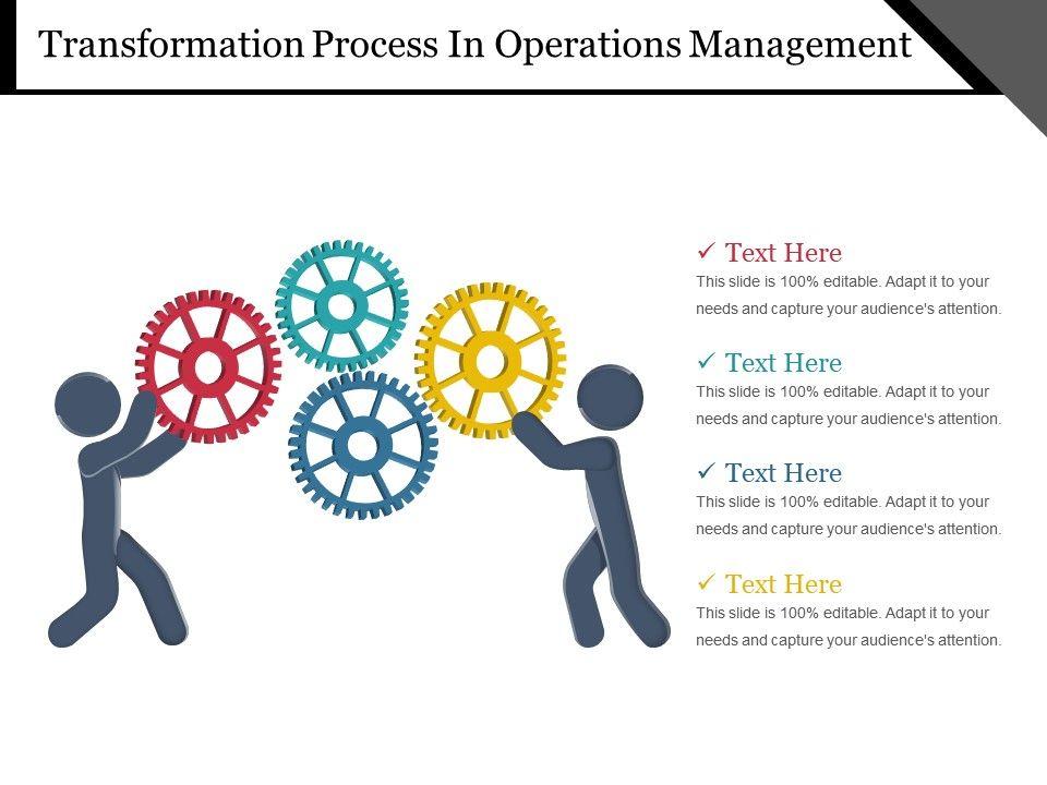 operations transformation process