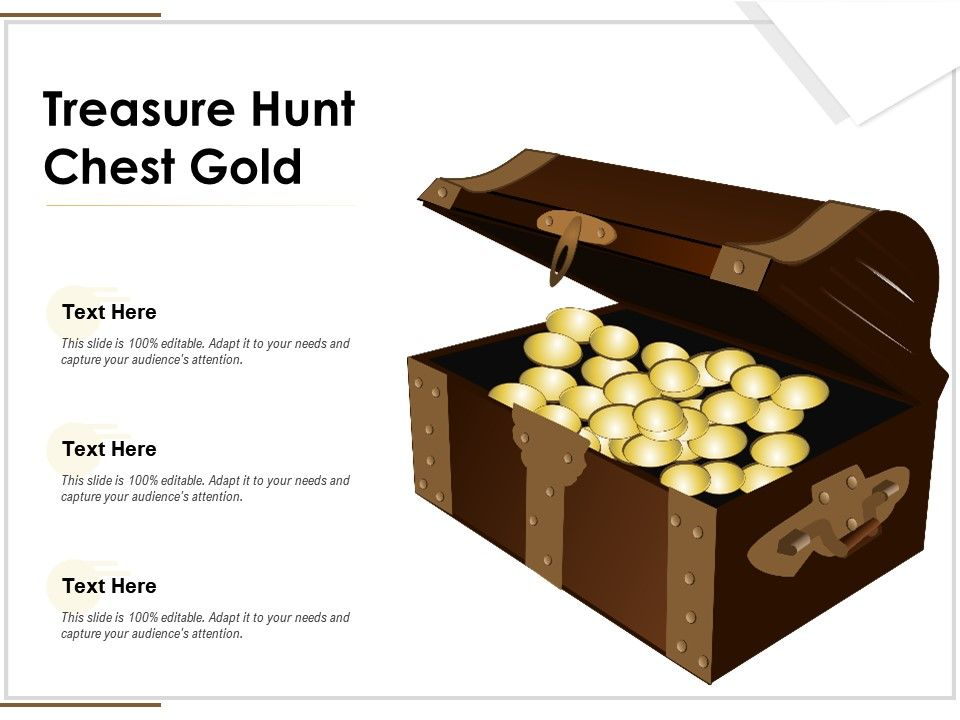 Treasure Hunt Chest Gold
