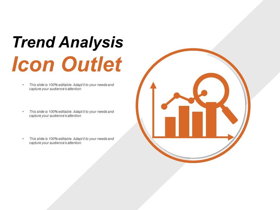 Trend analysis icon outlet powerpoint guide powerpoint for Slide design outlet