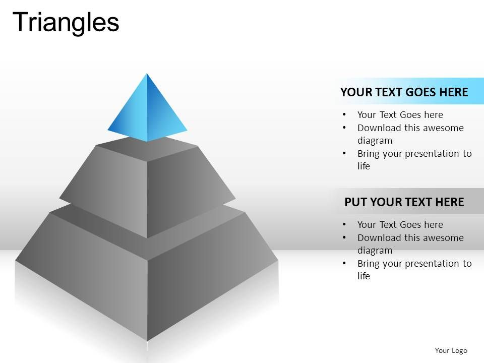 triangles powerpoint presentation slides presentation powerpoint