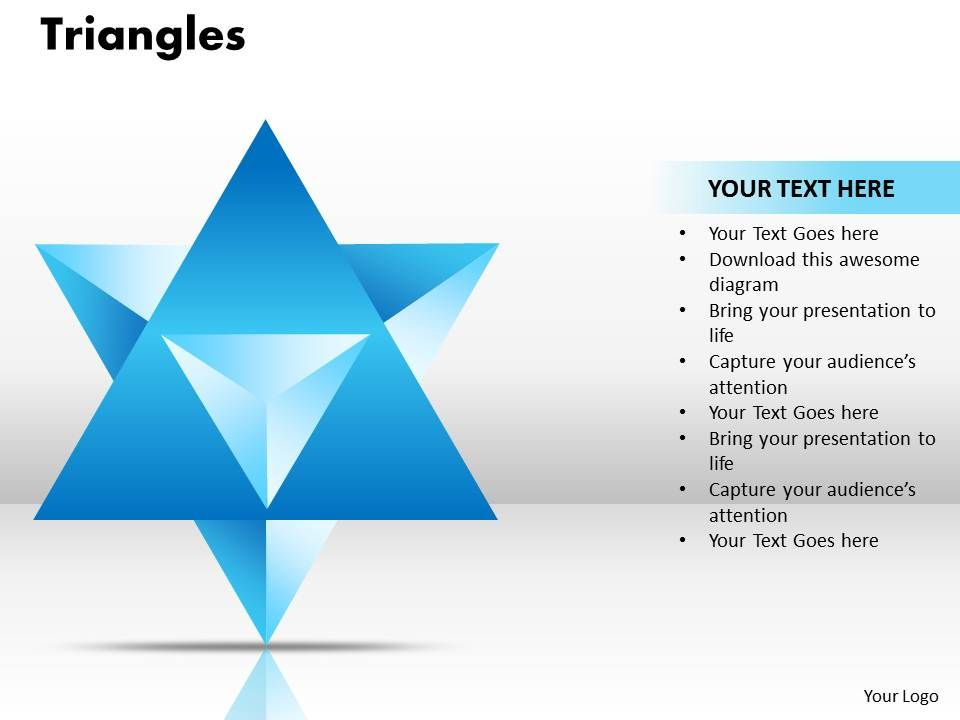 Triangles Template Ppt 1 Powerpoint Presentation Sample Example