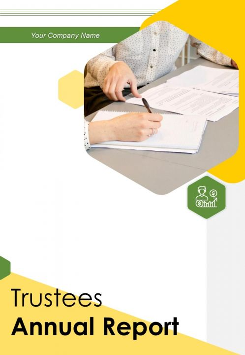Trustees Annual Report PDF DOC PPT Document Report Template