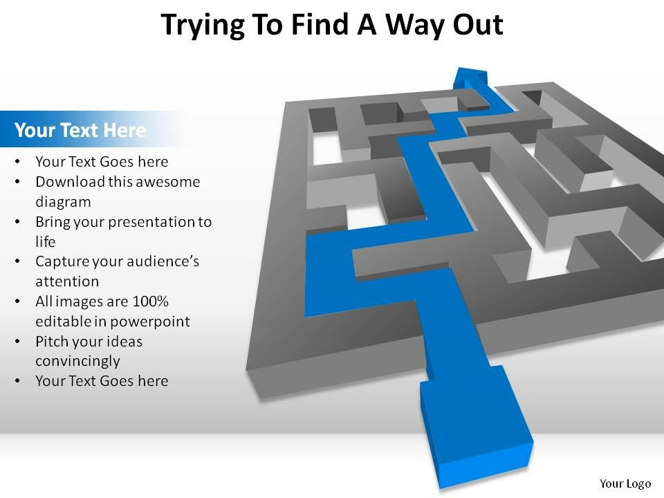 ... Presentations With Ready-Set-Go Template | PowerPoint Presentation