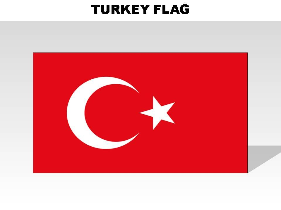 Turkey Country Powerpoint Flags Presentation Powerpoint Templates