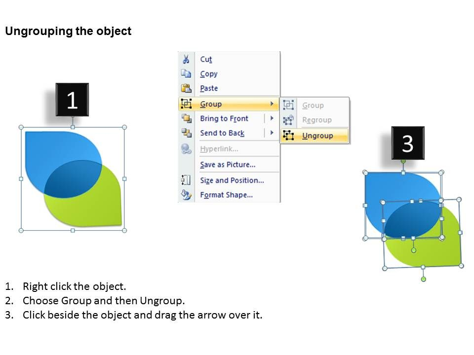 Two Circle Venn Diagram Powerpoint Slides Presentation ...