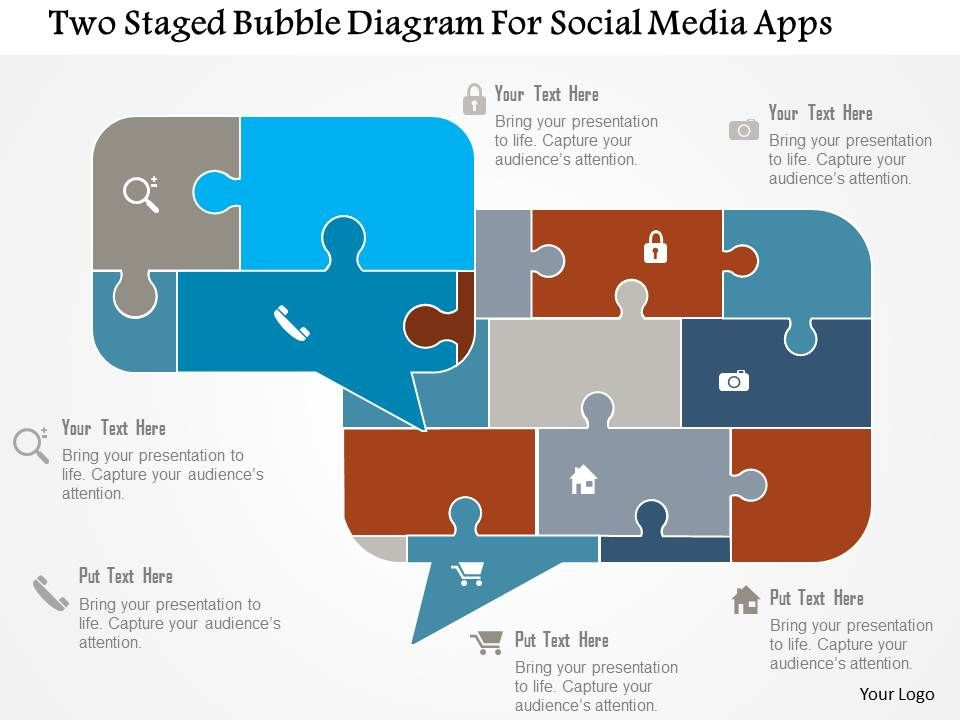 Two staged bubble diagram for social media apps flat powerpoint twostagedbubblediagramforsocialmediaappsflatpowerpointdesignslide01 sciox Images