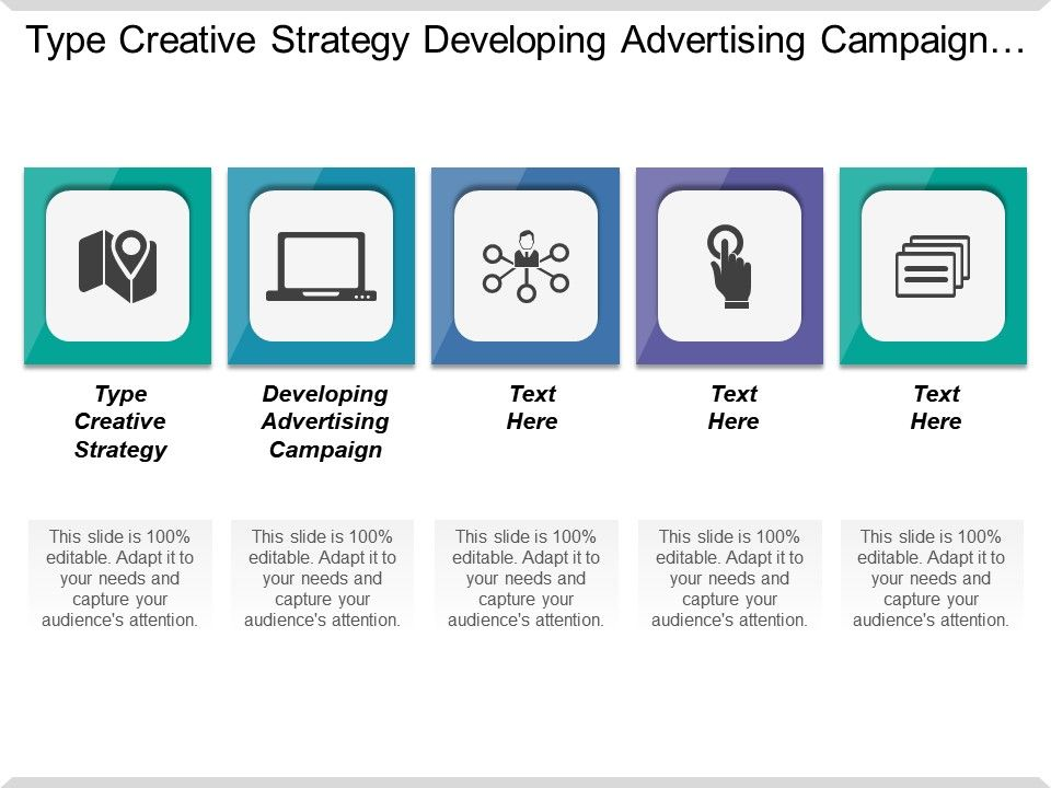 creative strategy sample