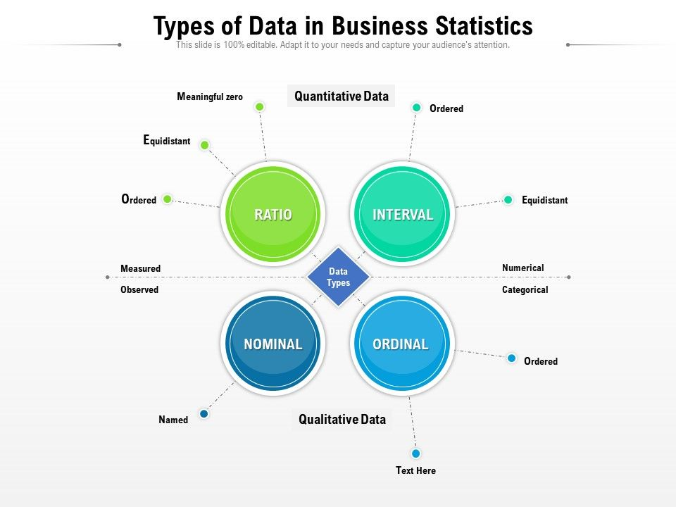 Types Of Data In Business Statistics
