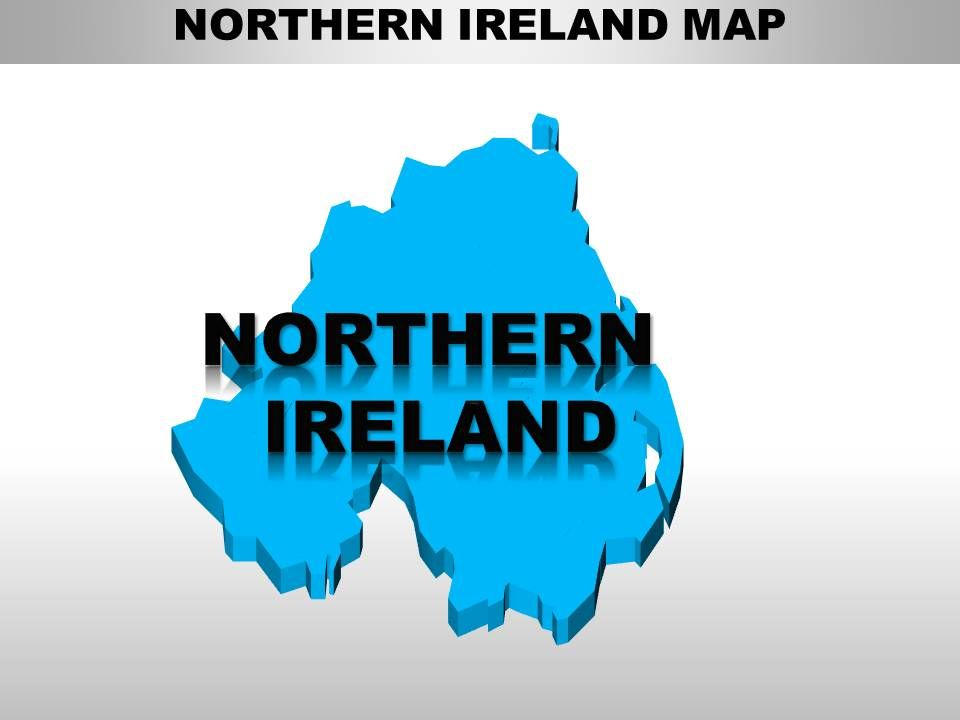 Map Of Uk For Powerpoint.Uk Northern Ireland Country Powerpoint Maps Powerpoint Slides