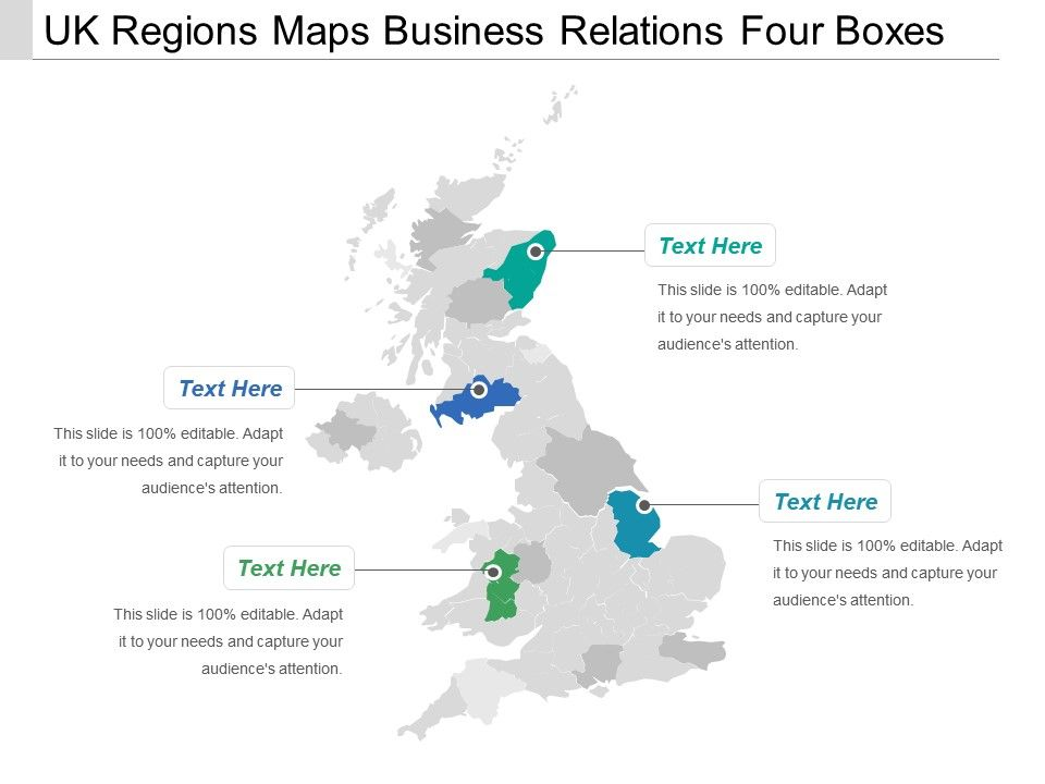 Uk Regions Maps Business Relations Four Bo | PowerPoint ... on us regions map worksheet, us regions map printable, us regions map color,