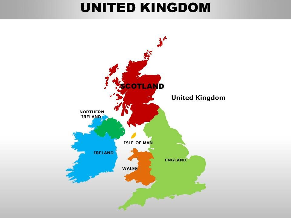 Map Of Uk Template.Uk Scotland Country Powerpoint Maps Powerpoint Design Template
