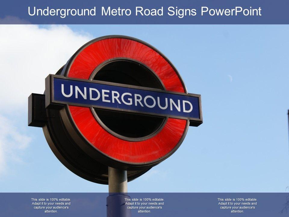 underground_metro_road_signs_powerpoint_Slide01