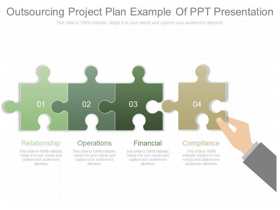 outsourcing company schedule example