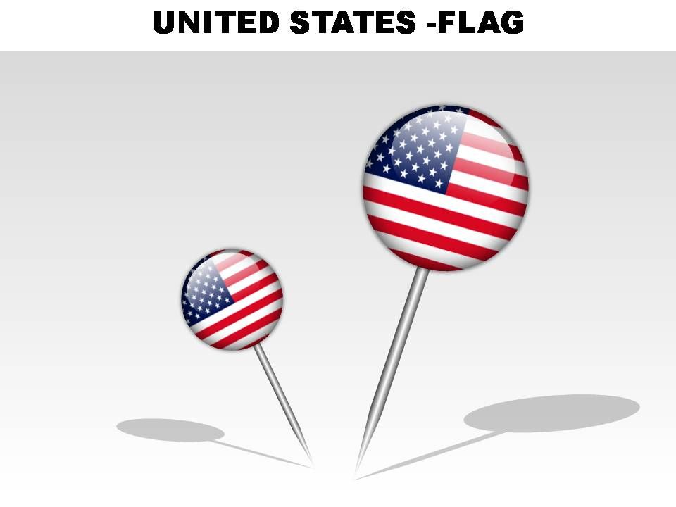 united states country powerpoint flags presentation