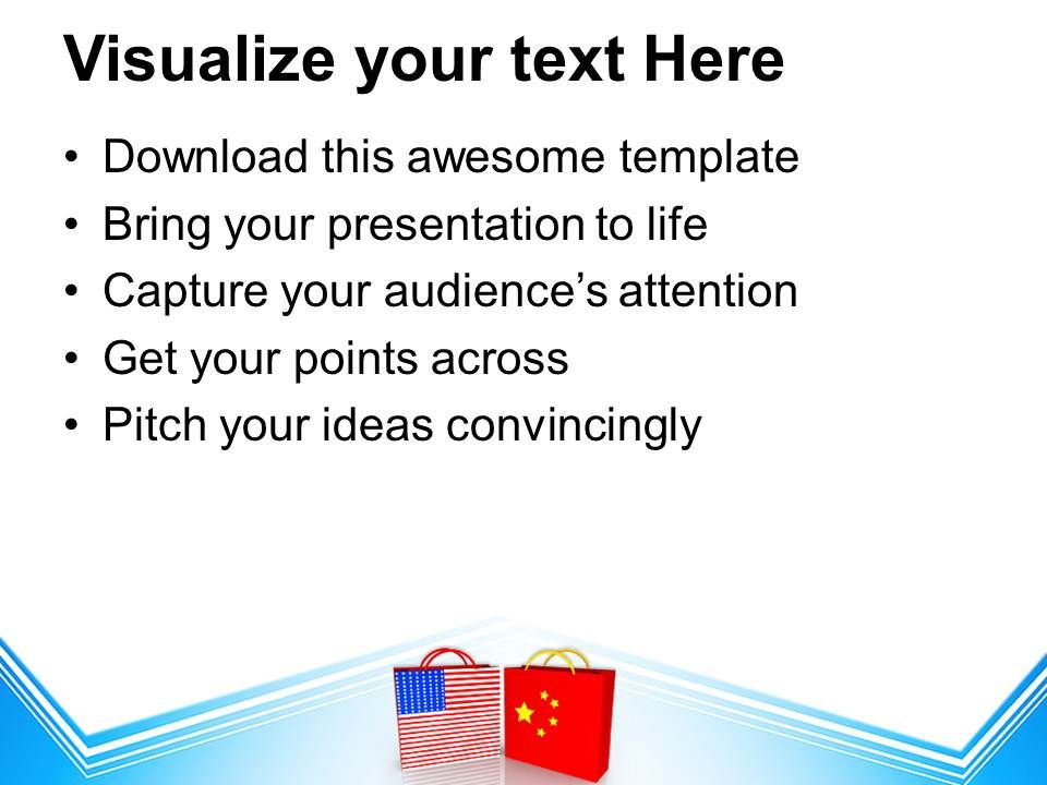 Us And China Trade Symbol Powerpoint Templates Ppt Backgrounds For