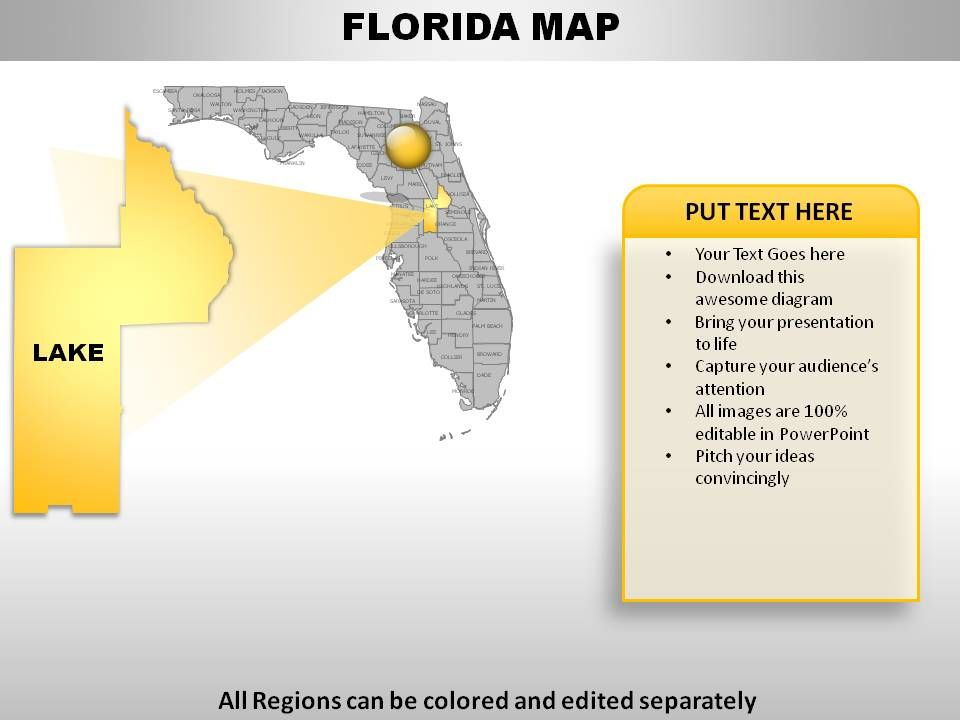 USA Florida State Powerpoint Maps | PowerPoint Templates ...