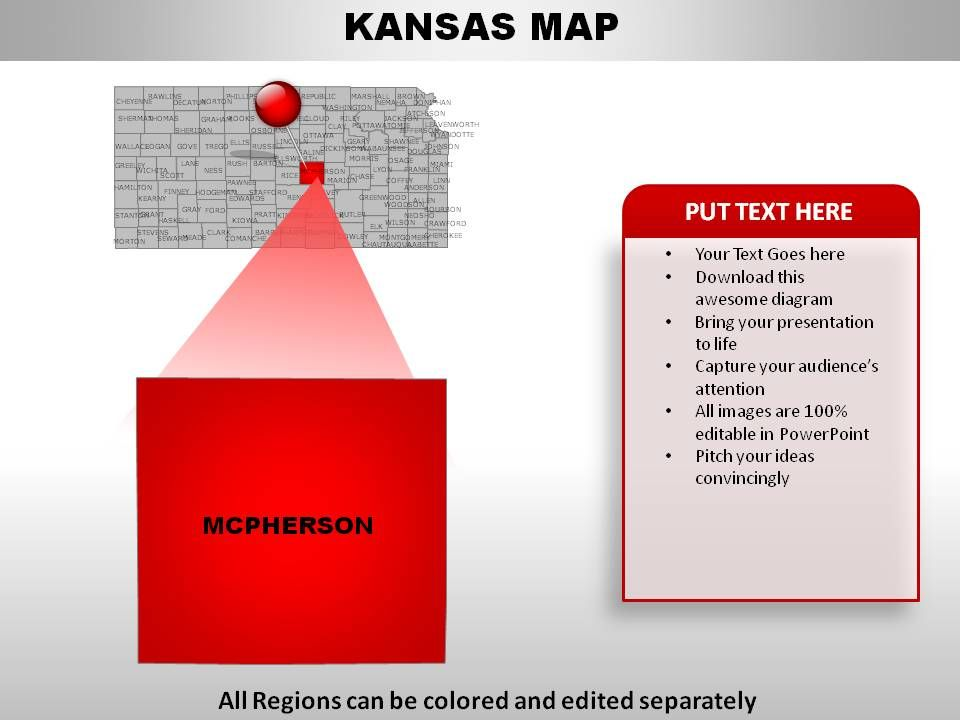 USA Kansas State Powerpoint Maps | PowerPoint Presentation Templates on kansas counties map, herington kansas map, missouri map, arkansas map, oklahoma map, the state map, colorado map, kansas elevation map, kansas lakes map, usa map, kansas map with all cities, kansas road map, kansas us map, nebraska map, printable kansas map, kansas interstate map, tennessee state map, united states map, kansas small town map, colby kansas map,