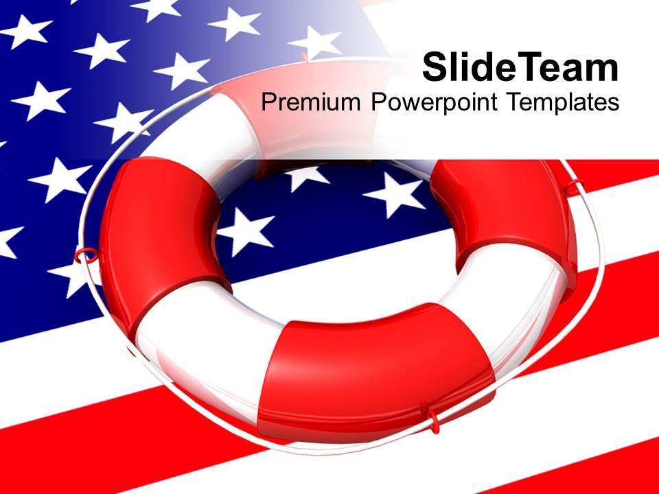 usa_lifeguard_on_flag_saving_life_future_powerpoint_templates_ppt_themes_and_graphics_0113_Slide01