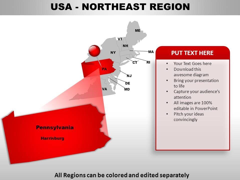 Usa Northeast Region Map Fish And Wildlife Service Station Map - Us northeast region map