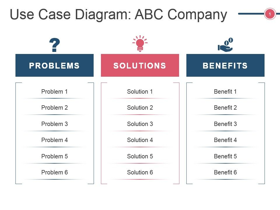Use Case Diagram Abc Company Ppt Slide Templates  Powerpoint Slide