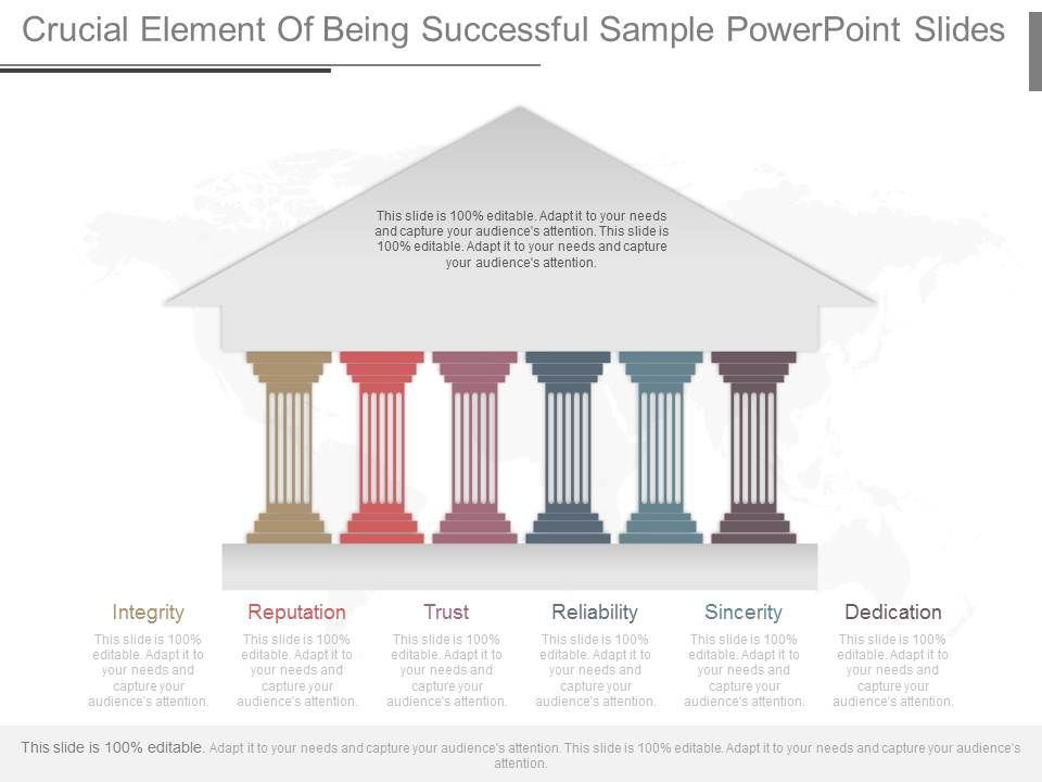 use_crucial_element_of_being_successful_sample_powerpoint_slides_Slide01