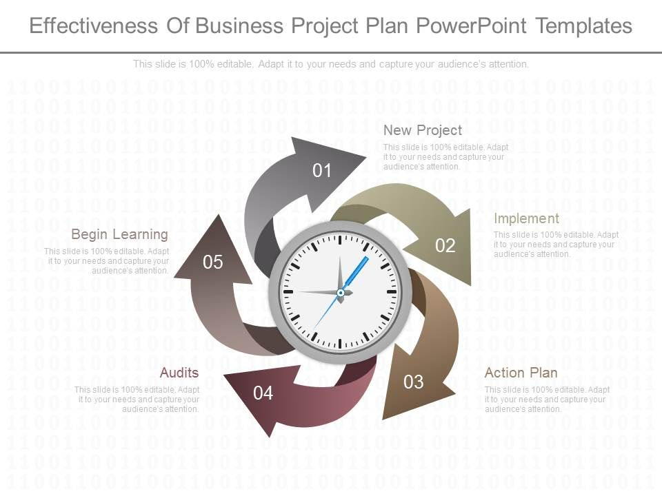 Effectiveness of business plan