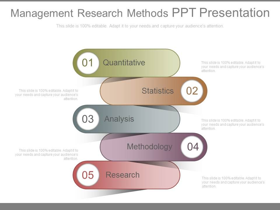 research template ppt