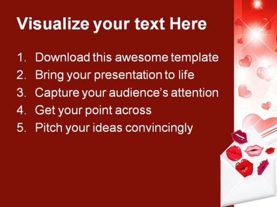 valentine hearts youth powerpoint templates and powerpoint, Presentation