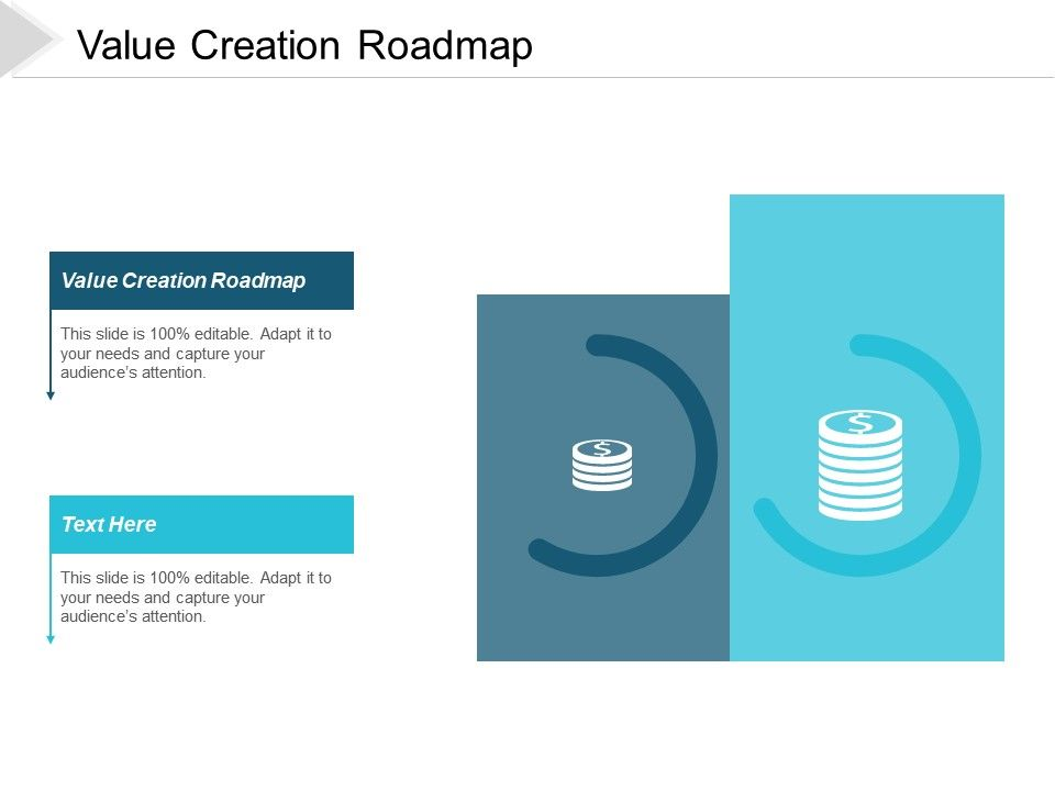 Value Creation Roadmap Ppt Powerpoint Presentation Infographic Template Shapes Cpb
